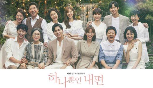 韓国ドラマ 『たった一人の私の味方~My Only One~』韓国で最高視聴率49.4%を記録したヒューマンドラマ