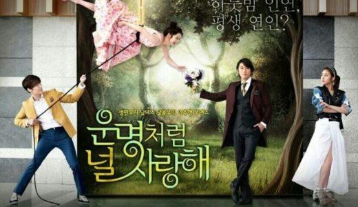 韓国ドラマ『運命のように君を愛している』笑いあり、涙ありの、心温まるドラマ